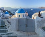 Santorini (Thira), Oia, Greece #94