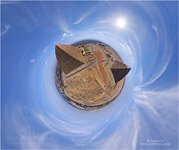 Egypt. Great Pyramids. Sphere