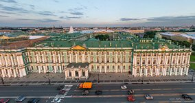 Winter Palace, view from the embankment