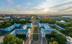 Above the Smolny Convent