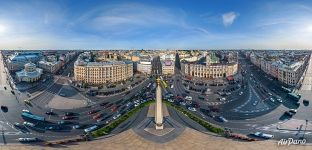 Moscow Railway Station, Leningrad Hero City Obelisk