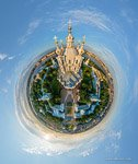 Smolny Cathedral. Planet