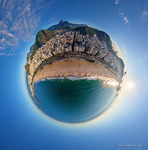 Copacabana beach. Planet