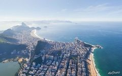 Copacabana and Ipanema beaches