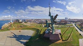 The monument to the sailor and soldier, Sevastopol