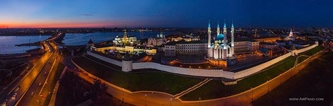 Kazan Kremlin at night #6