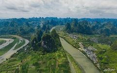 Above Li River near Xingping Town