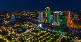 Grozny at night
