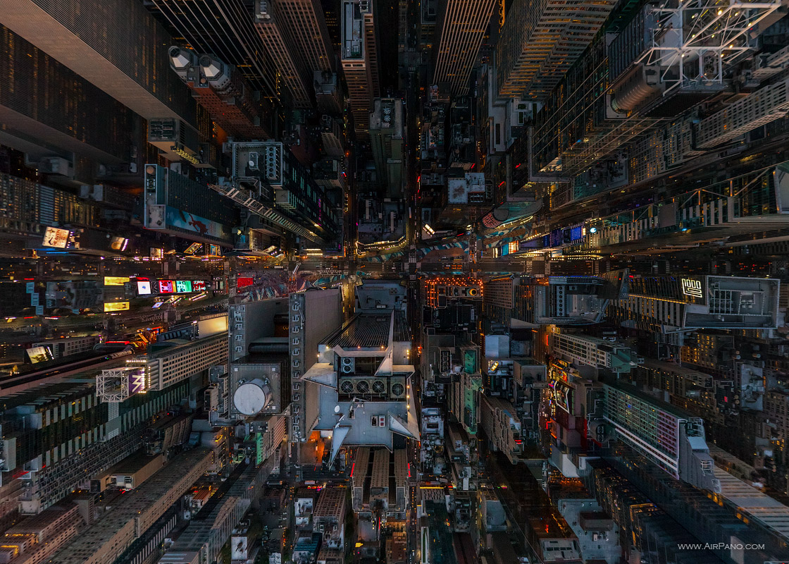 New York, Times Square at night #1 • AirPano.com • Photo