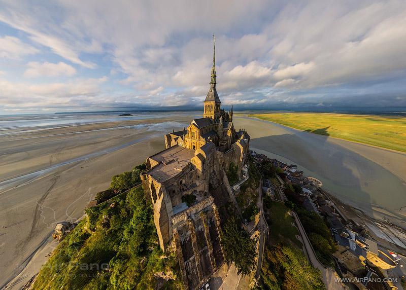 Da vam stane dah:Panorame najlepših mesta na planeti  21_371381_AbbeyMontSaint-MichelFrance