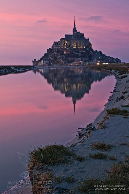 Da vam stane dah:Panorame najlepših mesta na planeti  21_671276_AbbeyMontSaint-MichelFrance