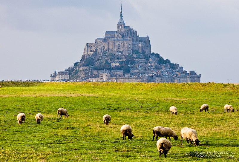 Da vam stane dah:Panorame najlepših mesta na planeti  21_853411_AbbeyMontSaint-MichelFrance