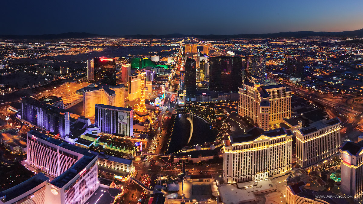 Las Vegas #5 • AirPano.com • Photo