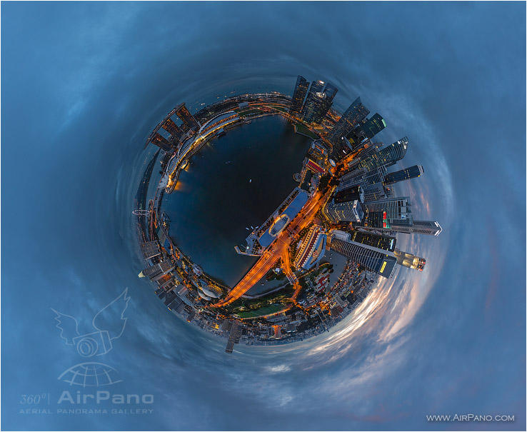 Singapore • AirPano.com • Photo