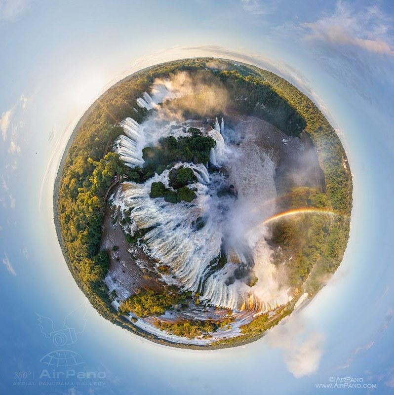 Iguasu Falls, Argentina-Brazil #1 • AirPano.com • Photo