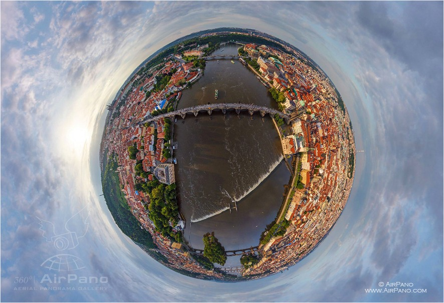 Prague, Czech Republic • AirPano.com • Photo
