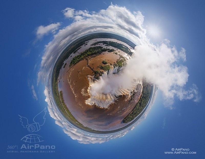 Iguasu Falls, Argentina-Brazil #2 • AirPano.com • Photo