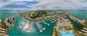 Sentosa Island, hotel W, Singapore • AirPano.com • Photo