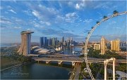 Marina Bay Sands hotel, Singapore • AirPano.com • Photo