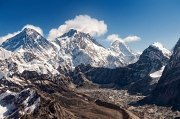 Everst, Lhotse, Makalu • AirPano.com • Photo