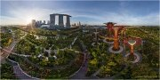 Supertree Grove (Gardens of the Bay), Singapore • AirPano.com • Photo
