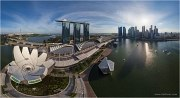 Art science museum, Singapore • AirPano.com • Photo