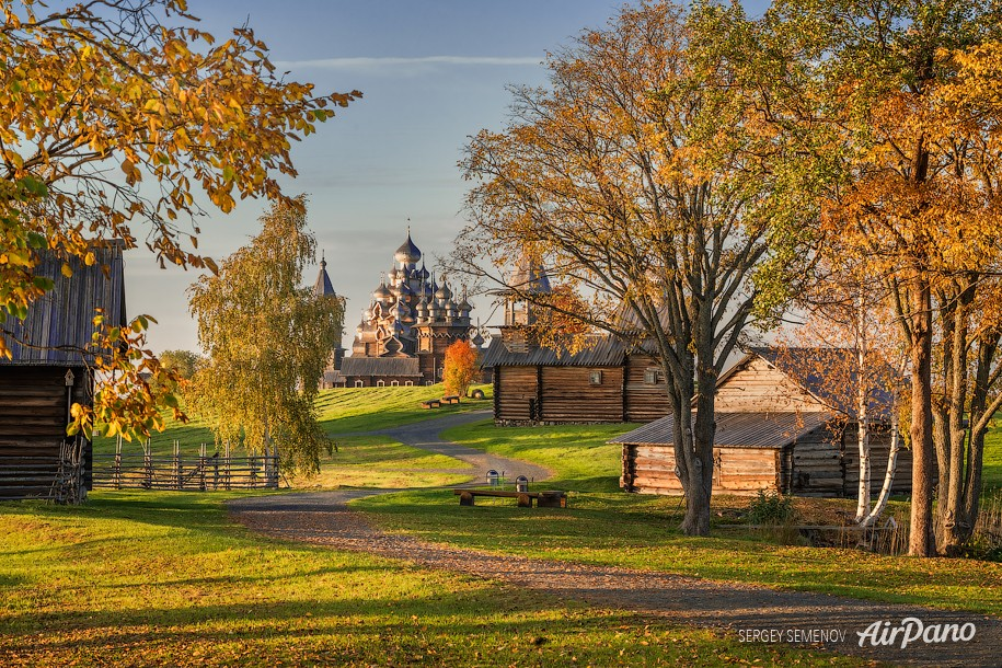 Kizhi Open Air Museum, Republic of Karelia, Russia