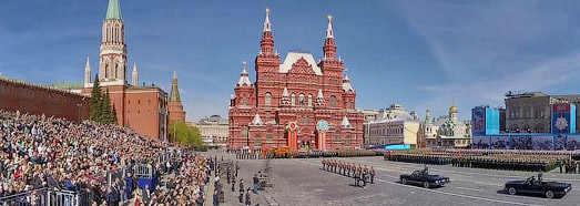 2015 Moscow Victory Day Parade - AirPano.com • 360 Degree Aerial Panorama • 3D Virtual Tours Around the World