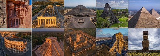 The Ancient World - AirPano.com • 360 Degree Aerial Panorama • 3D Virtual Tours Around the World