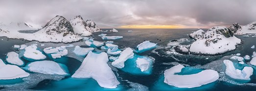 Antarctic expedition of AirPano, Part I - AirPano.com • 360 Degree Aerial Panorama • 3D Virtual Tours Around the World