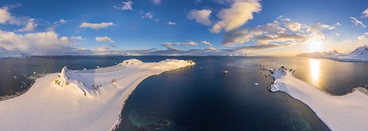 Antarctic expedition of AirPano, Part II - AirPano.com • 360 Degree Aerial Panorama • 3D Virtual Tours Around the World