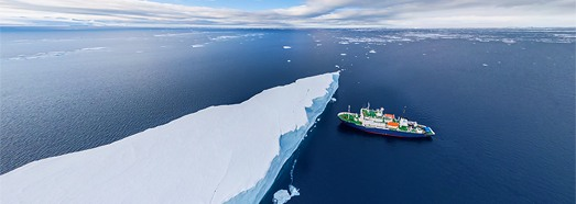 Promo-Site: Antarctic expedition of AirPano - AirPano.com • 360 Degree Aerial Panorama • 3D Virtual Tours Around the World