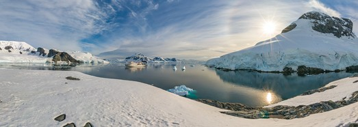 Antarctic Biennale - AirPano.com • 360 Degree Aerial Panorama • 3D Virtual Tours Around the World