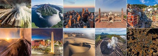 The best panoramas made by AirPano in 2015  - AirPano.com • 360 Degree Aerial Panorama • 3D Virtual Tours Around the World