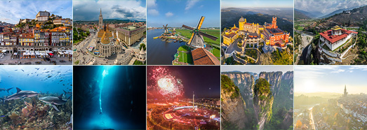The best panoramas made by AirPano in 2016 - AirPano.com • 360 Degree Aerial Panorama • 3D Virtual Tours Around the World