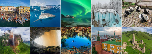 The best panoramas made by AirPano in 2017 - AirPano.com • 360 Degree Aerial Panorama • 3D Virtual Tours Around the World
