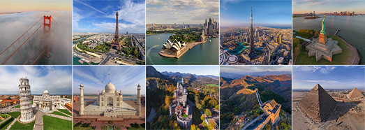 The Best Sights - AirPano.com • 360 Degree Aerial Panorama • 3D Virtual Tours Around the World