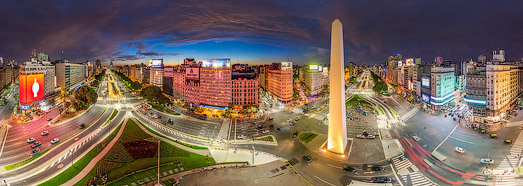 Buenos Aires, Argentina. Part I - AirPano.com • 360 Degree Aerial Panorama • 3D Virtual Tours Around the World