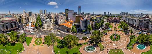 Buenos Aires, Argentina. Part II - AirPano.com • 360 Degree Aerial Panorama • 3D Virtual Tours Around the World