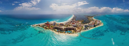 Cancun, Mexico - AirPano.com • 360 Degree Aerial Panorama • 3D Virtual Tours Around the World