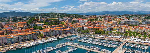 Cannes, French Riviera, France - AirPano.com • 360 Degree Aerial Panorama • 3D Virtual Tours Around the World