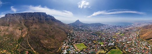 Virtual Tour of Cape Town, South Africa - AirPano.com • 360 Degree Aerial Panorama • 3D Virtual Tours Around the World