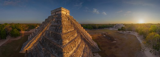 Maya Pyramids, Chichen Itza, Mexico - AirPano.com • 360 Degree Aerial Panorama • 3D Virtual Tours Around the World