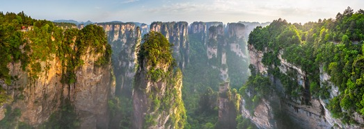 Zhangjiajie National Forest Park (Avatar Mountain), China - AirPano.com • 360 Degree Aerial Panorama • 3D Virtual Tours Around the World