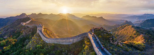 Great Wall of China - AirPano.com • 360 Degree Aerial Panorama • 3D Virtual Tours Around the World
