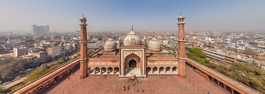 Delhi, India - AirPano.com • 360 Degree Aerial Panorama • 3D Virtual Tours Around the World