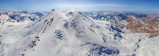 Mount Elbrus, Russia - AirPano.com • 360 Degree Aerial Panorama • 3D Virtual Tours Around the World