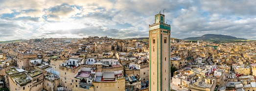Fes, Morocco - AirPano.com • 360 Degree Aerial Panorama • 3D Virtual Tours Around the World