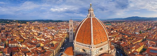 Florence, Italy - AirPano.com • 360 Degree Aerial Panorama • 3D Virtual Tours Around the World