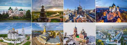 Golden Ring of Russia - AirPano.com • 360 Degree Aerial Panorama • 3D Virtual Tours Around the World